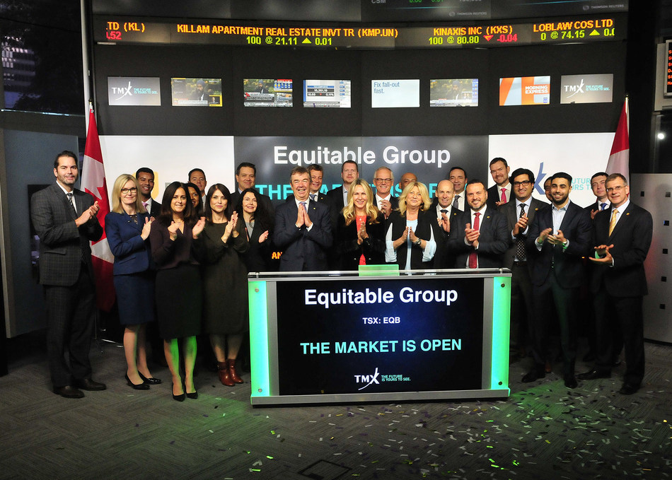 Equitable Group Inc. Opens the Market (CNW Group/TMX Group Limited)