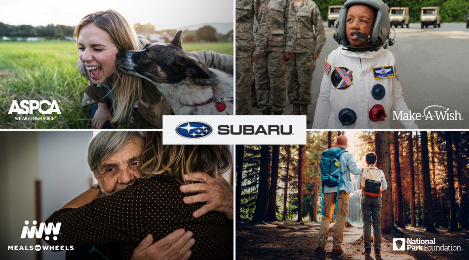 Twelve Years Running: Subaru Share the Love® Event Puts New Owners in the Driver's Seat; Automaker Announces 2019 National Charitable Partners, Including the ASPCA®, Make-A-Wish®, Meals on Wheels America and National Park Foundation