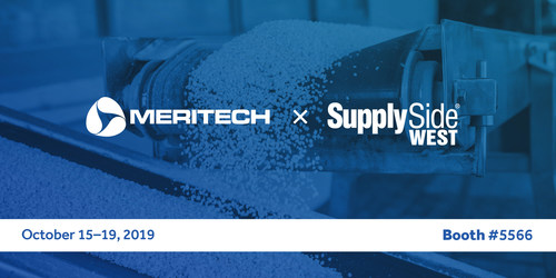 Meritech is exhibiting at SupplySide West in booth #5566 in Las Vegas, October 17th & 18th!