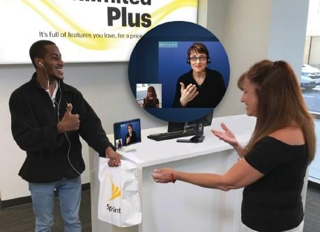 Sprint Offers American Sign Language Video Interpreting at Washington D.C. Store