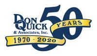 Don Quick & Associates, Inc. 50 Year Business Anniversary Logo
