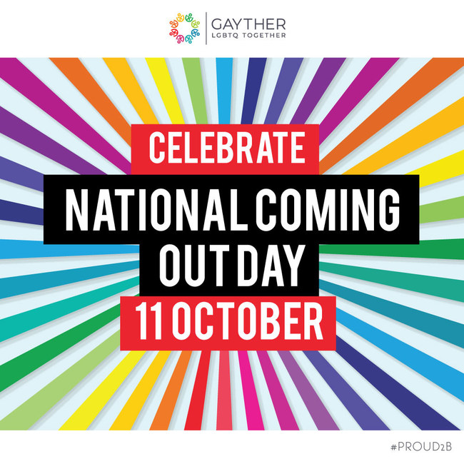 Gayther - National Coming Out Day