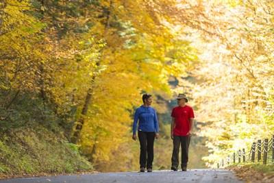 Les parcs nationaux de la Sépaq seront ouverts pendant le long weekend de l'Action de grâce, l'un des meilleurs moments de l'année pour observer la flambée des couleurs et se laisser envoûter par les charmes de l'automne québécois (Groupe CNW/Société des établissements de plein air du Québec)