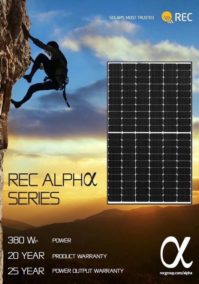 Rec Solar Panel (PRNewsfoto/REC Group)