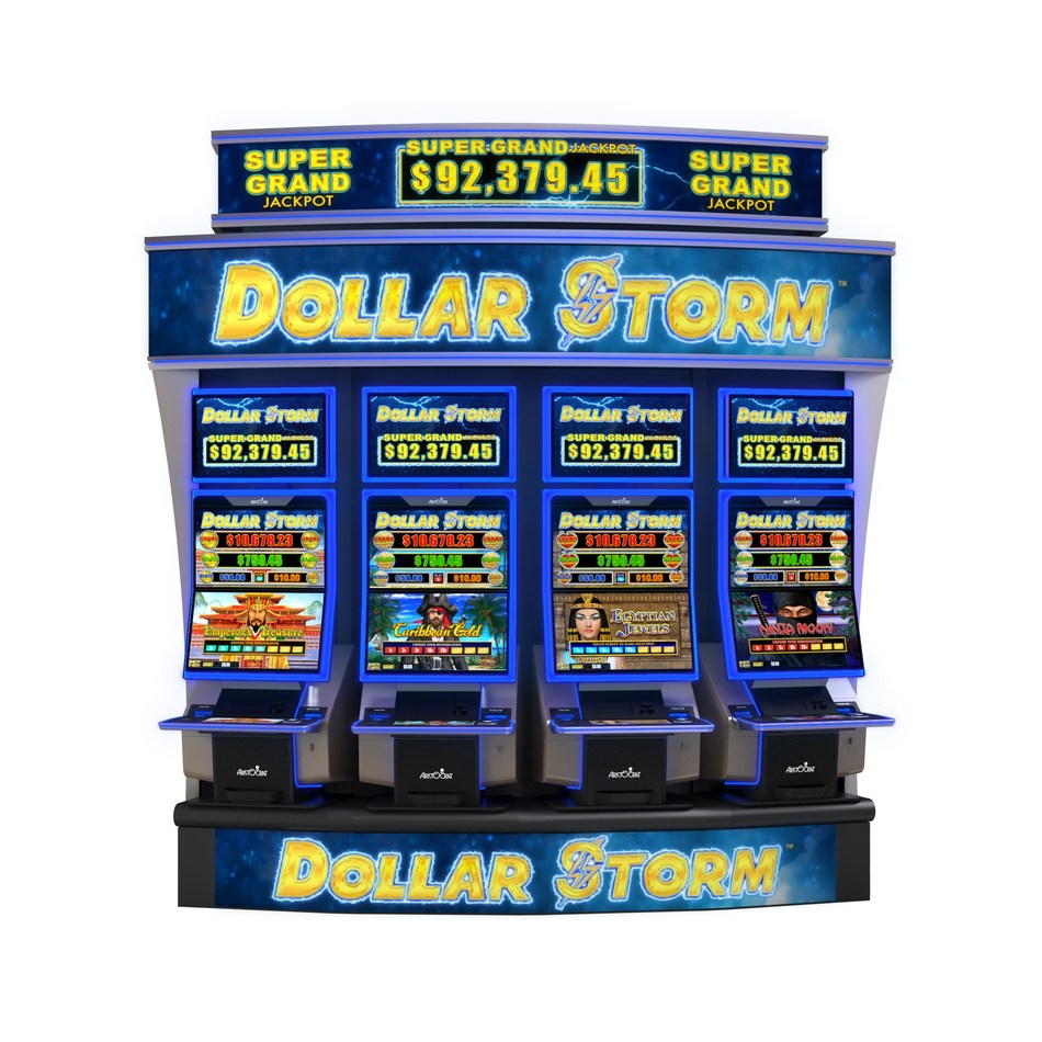 Aristocrat's new title Dollar Storm™ is an exciting lease option created exclusively for Aristocrat's new MarsX™ cabinet. Experience these innovations and more in Aristocrat's booth #1133 at G2E 2019.