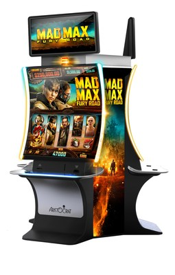 The new slot game Mad Max: Fury Road™ appears on Aristocrat's EDGE X™ cabinet and is ready for lease. Experience these innovations and more in Aristocrat's booth #1133 at G2E 2019.