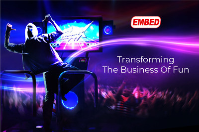 Embed Unveils a New Brand & Marketing Strategy at IAAPA EXPO 2019 On November 19-22 in Orlando