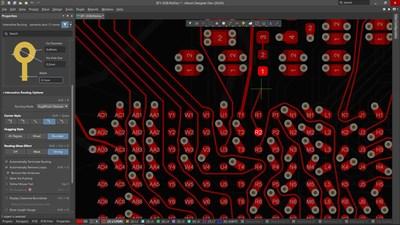 Interactive routing in Altium Designer 20
