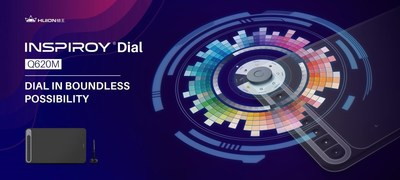 La primera tableta Huion Q620M de la serie Inspiroy Dial se presentó en la Feria de Electrónica de Hong Kong