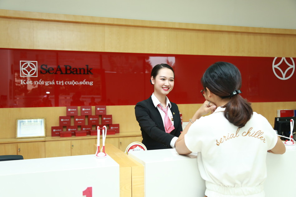 """SeABank is one of the 15 largest banks in Vietnam with authorized capital of 9,369 billion VND (equivalent to more than 403 million USD)"" (PRNewsfoto/SeABank)"