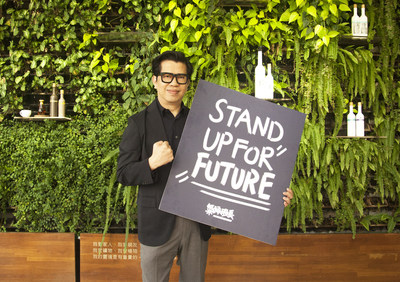 Steven Ko, Chairman of O'right, calls for youth action on climate change