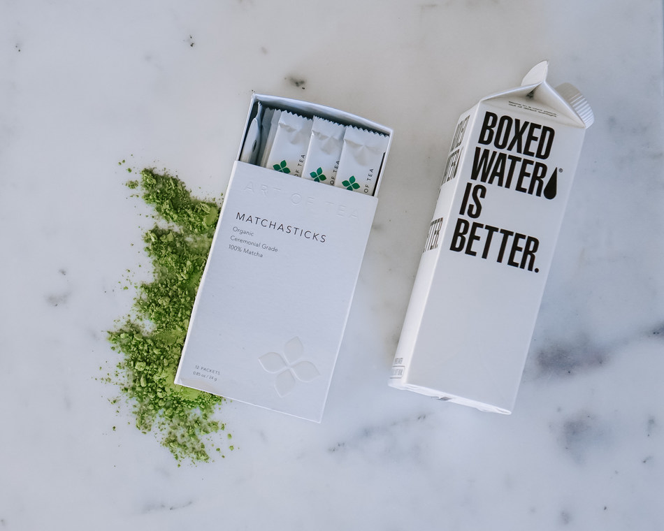 Boxed Water Is Better today announced the launch of Boxed Matcha in collaboration with mission-driven tea importer Art of Tea.