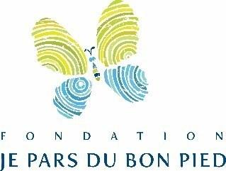 Logo : Fondation Je pars du bon pied (Groupe CNW/Les Pneus Robert Bernard)