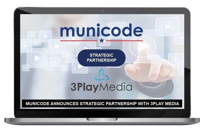 Municode Announces Strategic Partnership With 3Play Media