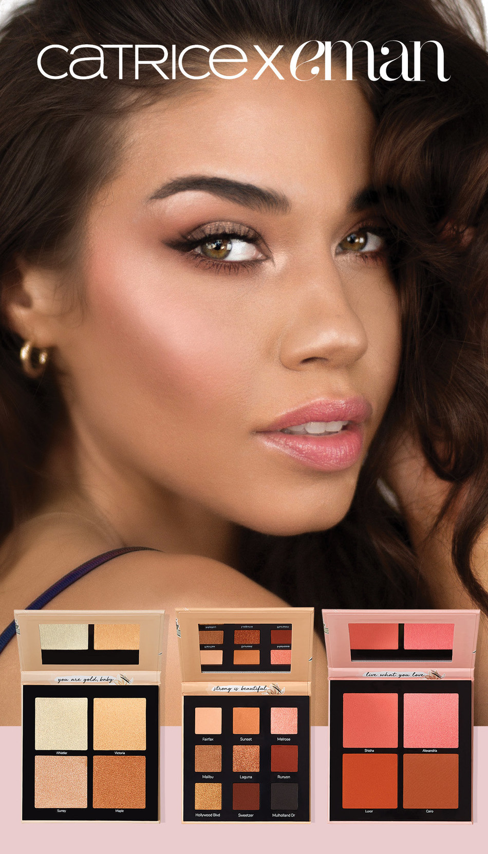 CATRICE Cosmetics partners with EMAN - Popular Beauty YouTuber and Makeup Artist. Meet EMAN in Toronto on October 25, 2019. (CNW Group/CATRICE Cosmetics)