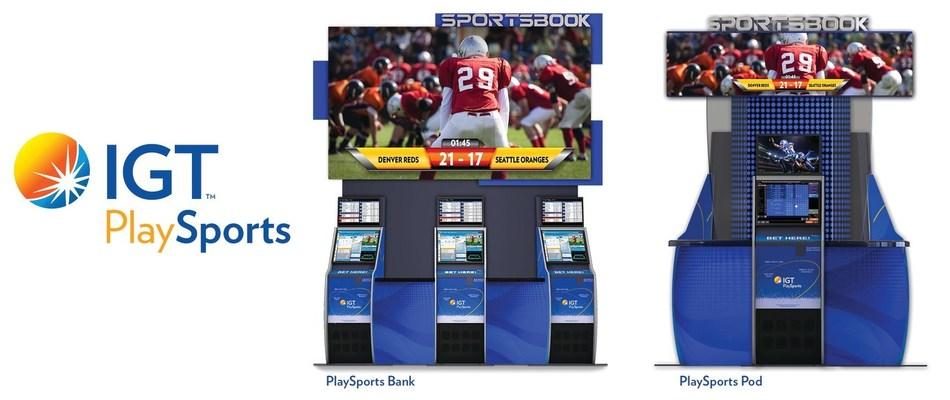 IGT PlaySports Bank and PlaySports Pod Make World Debut at G2E 2019