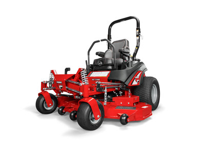 Ferris delivers the anticipated ISX 2200 and ISX 3300 zero-turn mower equipped with Forefront Suspension System