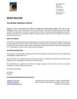 Filo Mining Corporate Update (CNW Group/Filo Mining Corp.)