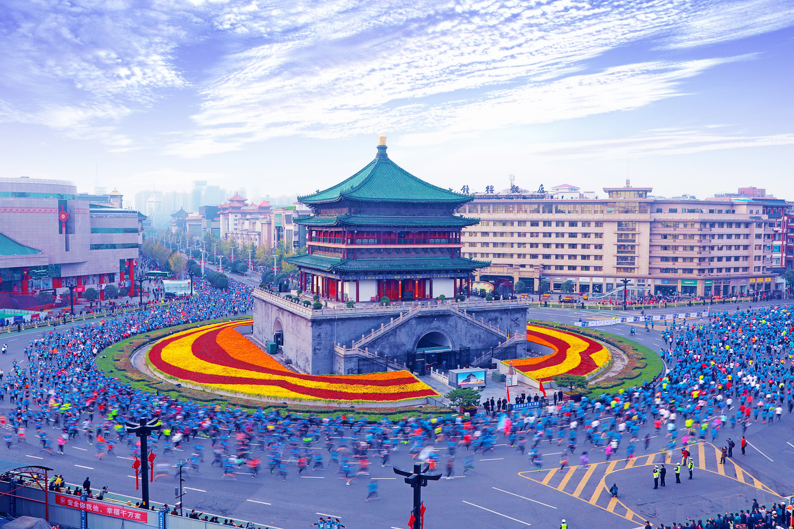 On Your Marks: 2019 Xi'an Yango International Marathon Starts 20 October