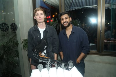 (L-R) Cameron Norris and Abhit Kumar, Co-Founders of Social Hardware