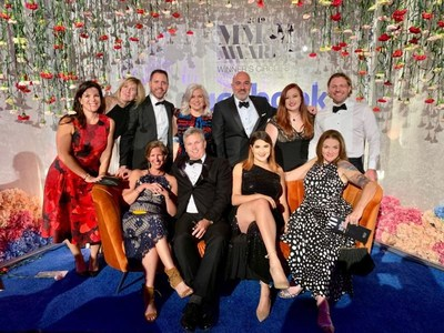 2e Team celebrates CEO, Ross Toohey's Agency Entrepreneur of the Year Silver win at the 2019 MM&M Awards.