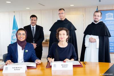 阿联酋与联合国教科文组织续签合作协议 加大力度修复摩苏尔历史悠久的教堂
