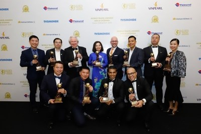 Many prizes awarded to projects developed by Sun Group