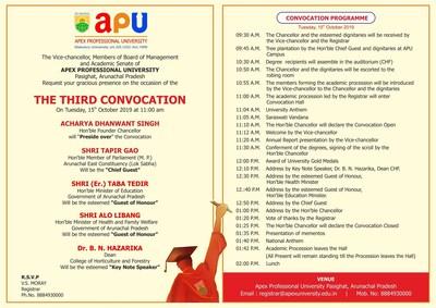 Third Convocation