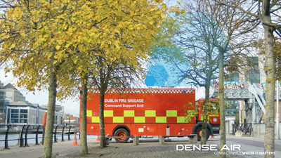 Dense Air and Dublin Fire Brigade have provided a glimpse of how emergency response will be assisted by the roll-out of next generation 5G networks.