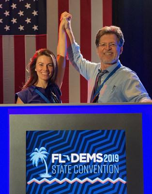 Michael E. Arth and his partner Shasta Solis on October 12, 2019