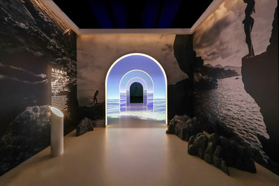 School House Crafts Multi-Sensory Journey of Discovery and Re-collection for La Mer Campaign Exhibition