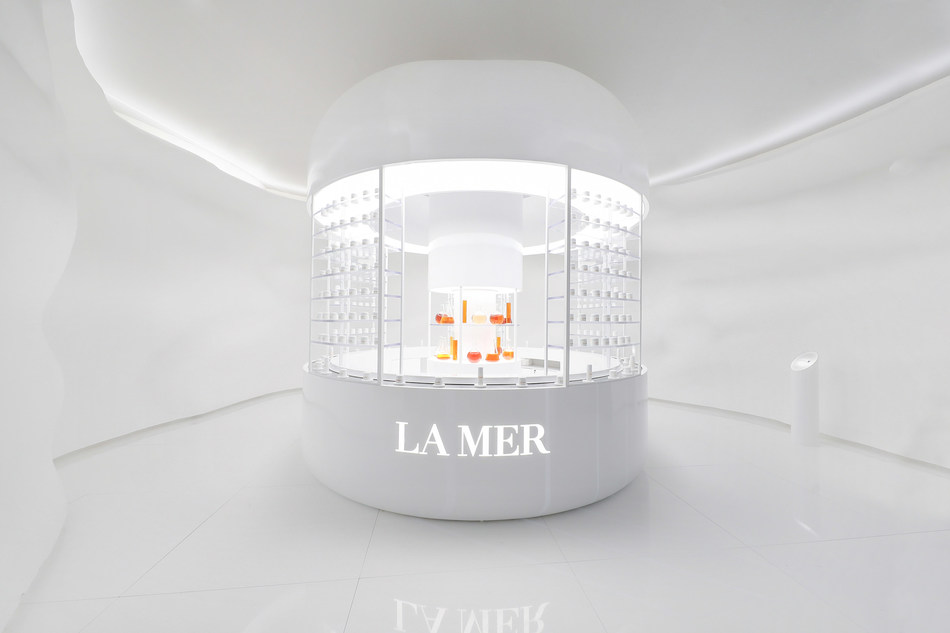 La Mer Edge of the Sea Exhibition, Creme de la Mer Lab