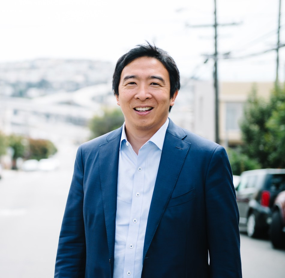 Democratic presidential candidate and entrepreneur Andrew Yang to discuss details of his Freedom Dividend proposal at National Press Club Headliners event Oct. 21