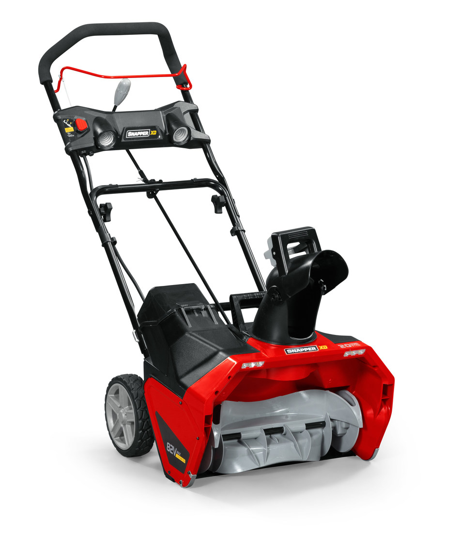 Snapper unveils single stage snow blower and lawn edger attachment to the XD 82-volt MAX lineup