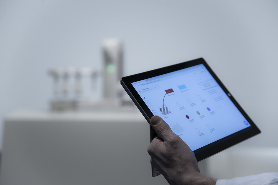 OneLab enables the easy design and execution of experiments from a user's own PC or Tablet