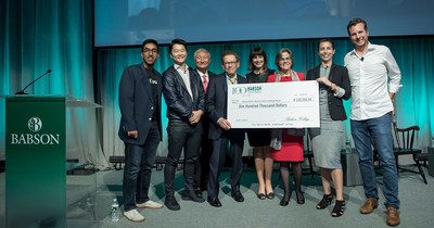 TORq Interface Wins $100K in Babson College ePitch Competition