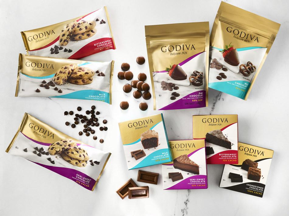 GODIVA Introduces New Premium Baking Chocolates to Elevate Homemade Desserts