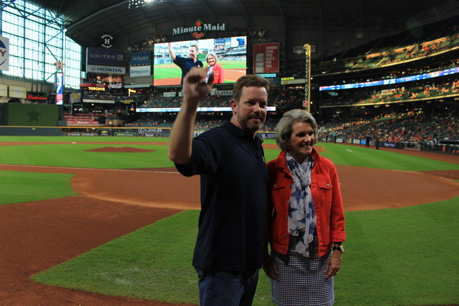 The Astros Foundation is the official 501(c)(3) team charity of the Houston Astros. They seek to harness the passion of baseball fans to support youth baseball and softball programs, the recognition/honor of the nation's military, childhood cancer awareness and efforts to reduce homelessness.