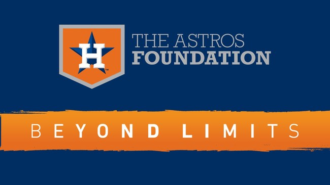 Beyond Limits donates $500 for every homer hit over its left-field banner to Astros Foundation and Astros MLB Youth Academy.