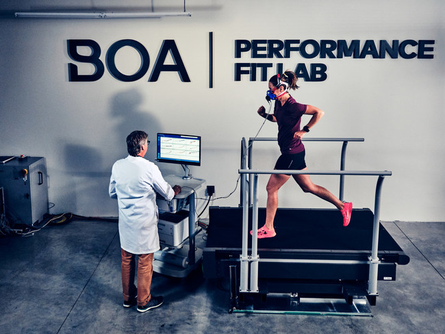 Boa Performance Fit Lab, Instrumented Treadmill