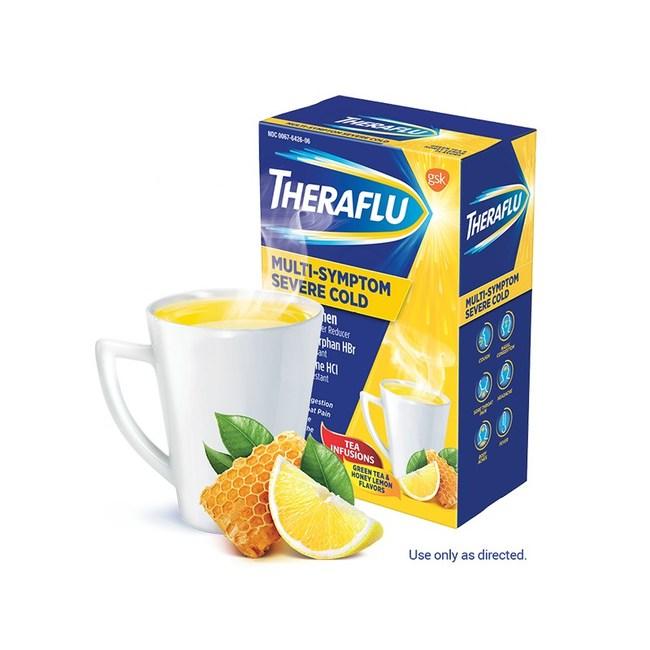 Theraflu Multi-Symptom Severe Cold Hot Liquid Powder