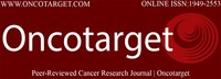 Oncotarget is a weekly peer-reviewed open access bio-medical journal covering research on all aspects of oncology.