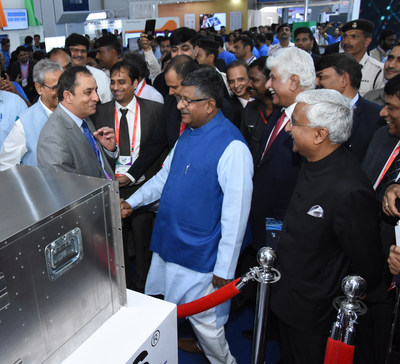 Product Launch at India Mobile Congress 2019