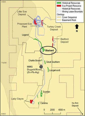 Appendix 1: Blackard Location Map (CNW Group/Copper Mountain Mining Corporation)