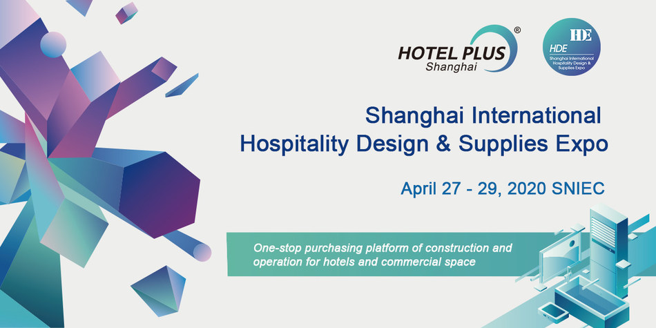 The 29th edition of Shanghai International Hospitality Design & Supplies Expo (Hotel Plus - HDE) will be held 27th - 29th April, 2020 at Shanghai New International Expo Centre.