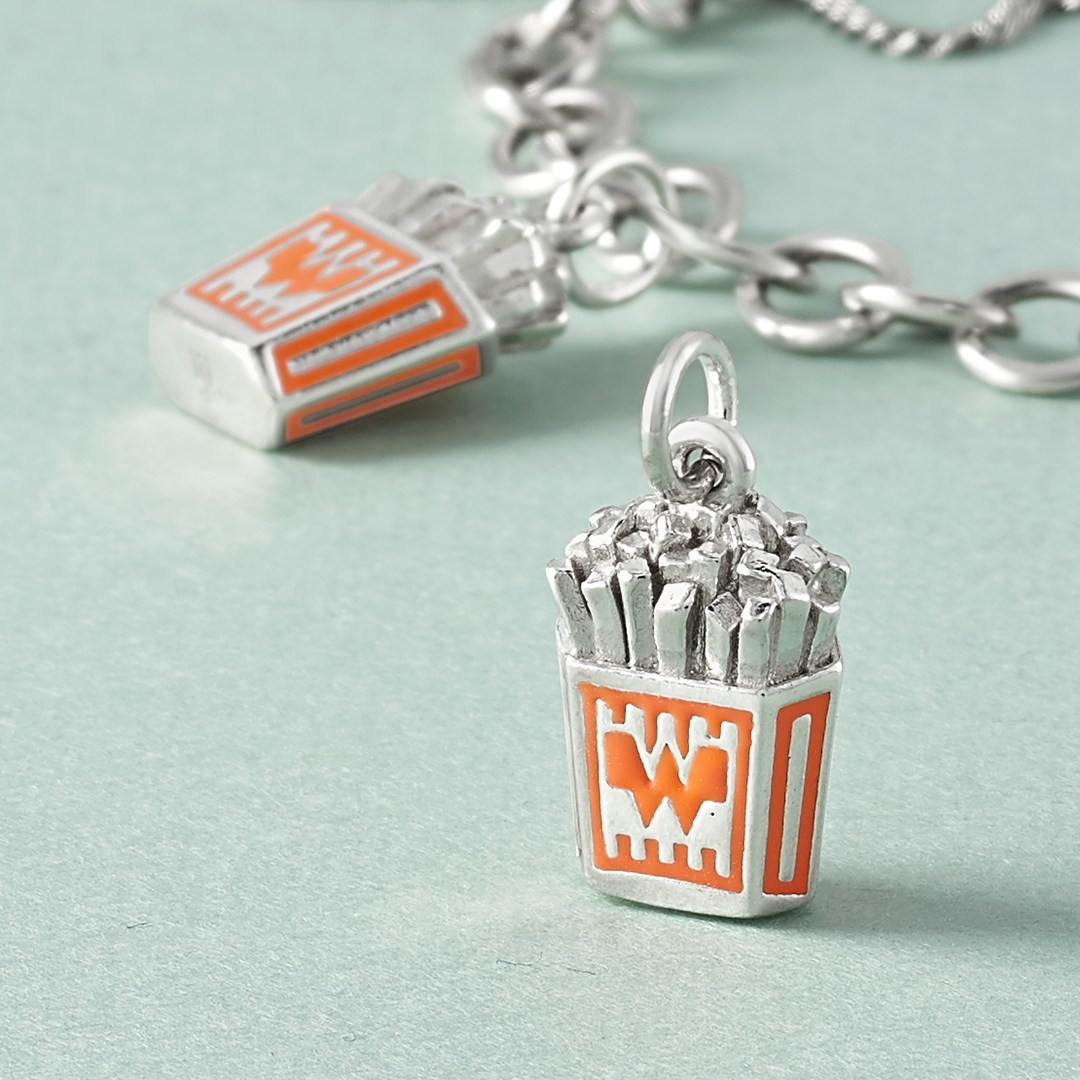 James Avery Artisan Jewelry And Whataburger Serve Up A Side Of Sterling Silver Fries