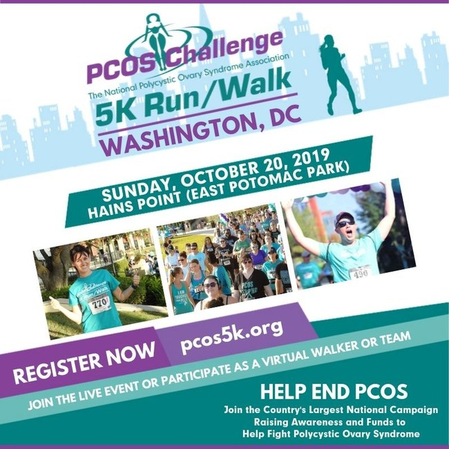 Washington, DC PCOS Challenge 5K Run/Walk Presented by PCOS Challenge: The National Polycystic Ovary Syndrome Association