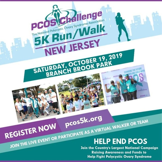 New Jersey PCOS Challenge 5K Run/Walk Presented by PCOS Challenge: The National Polycystic Ovary Syndrome Association