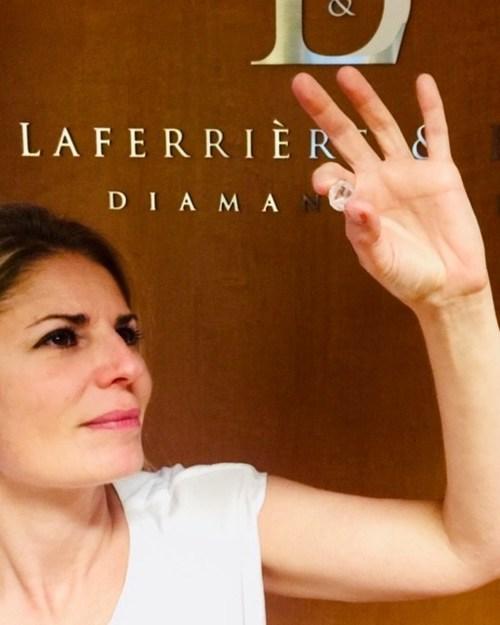 Le plus gros diamant brut acheté au Québec chez Laferrière & Brixi Diamantaires (Groupe CNW/Laferrière & Brixi Diamantaires)