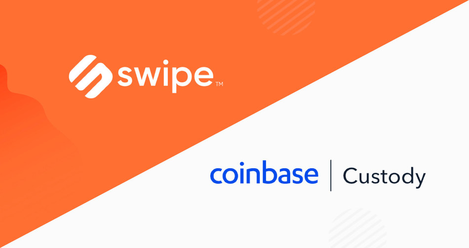 Swipe teams up with Coinbase Custody to provide tailored solutions for Swipe Wallet users.